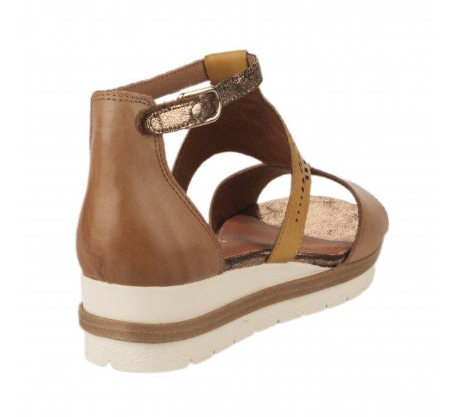 Nu pieds femme - TAMARIS - Jaune