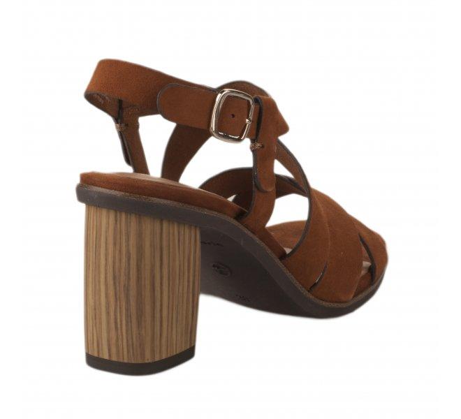 Nu pieds femme - TAMARIS - Marron