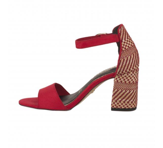 Nu pieds femme - TAMARIS - Rouge