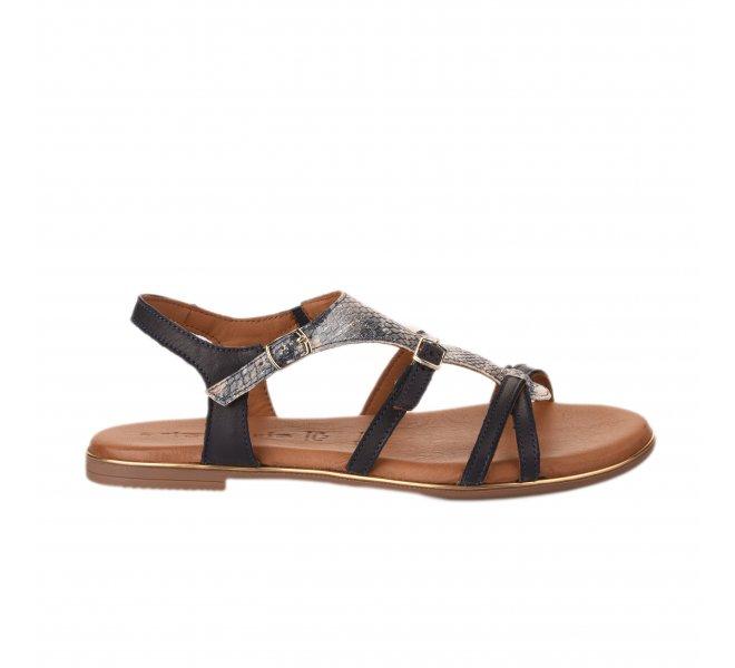 Nu pieds femme - TAMARIS - Bleu marine