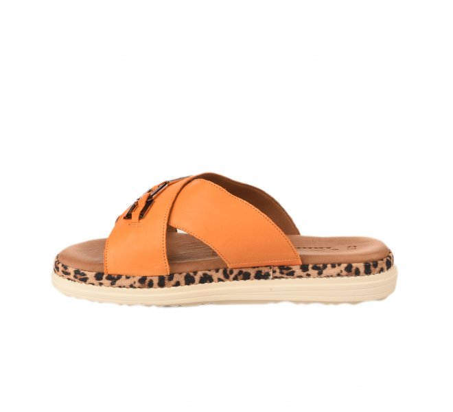 Mules femme - TAMARIS - Orange
