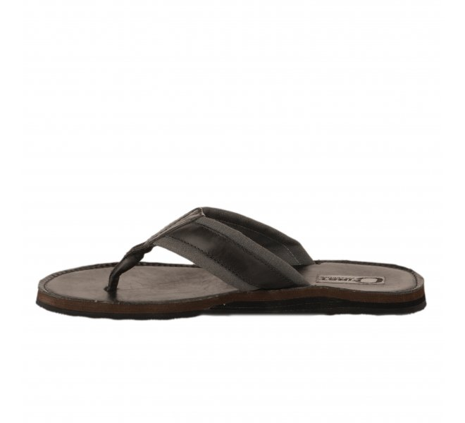 Mules homme - FIRST COLLECTIVE - Gris fonce