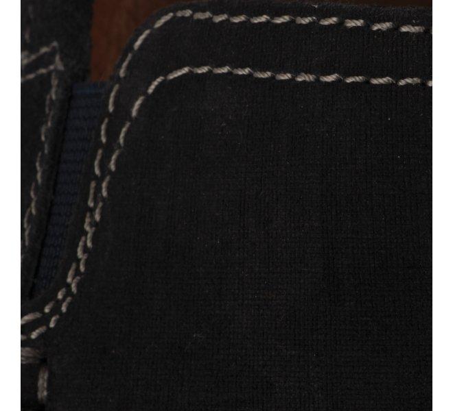 Mocassins homme - FIRST COLLECTIVE - Bleu marine