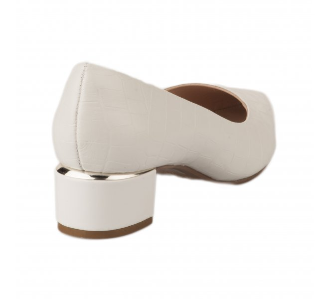 Escarpins femme - STYME - Blanc casse