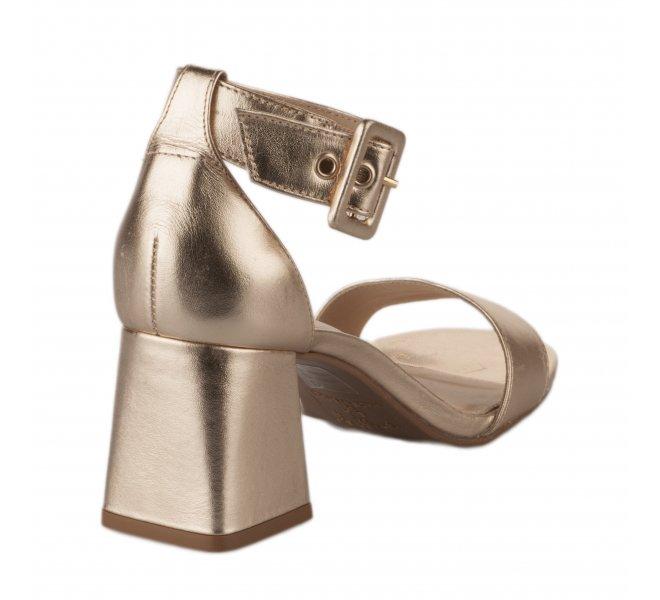 Nu pieds femme - STYME - Dore