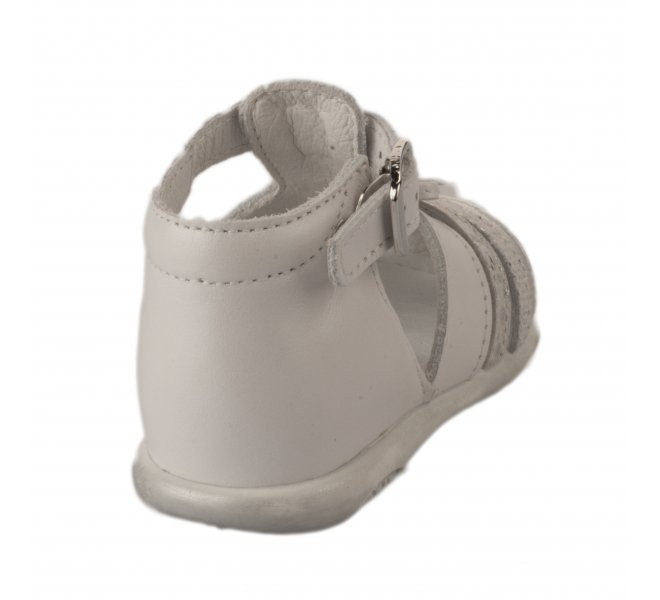 Nu-pieds fille - FéTéLACé - Blanc