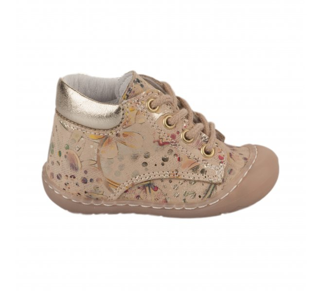 Bottines fille - BELLAMY - Beige