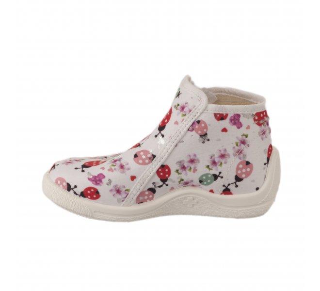 Pantoufles fille - BELLAMY - Blanc