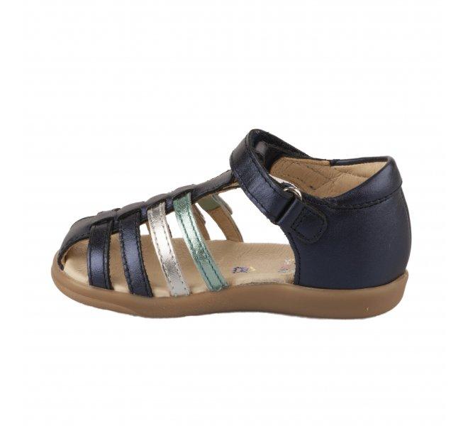 Nu-pieds fille - SHOO POM - Bleu marine