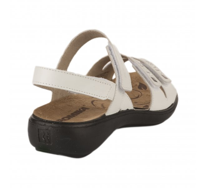 Nu pieds femme - ROMIKA - Blanc