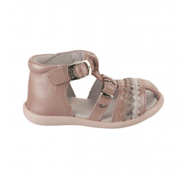 Nu-pieds fille - GBB - Rose