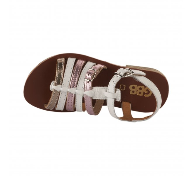 Nu-pieds fille - GBB - Blanc