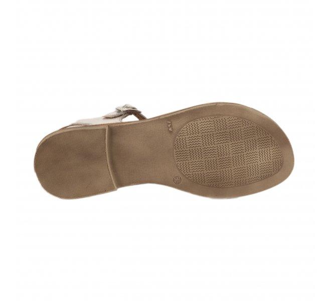 Nu-pieds fille - GBB - Gris argent