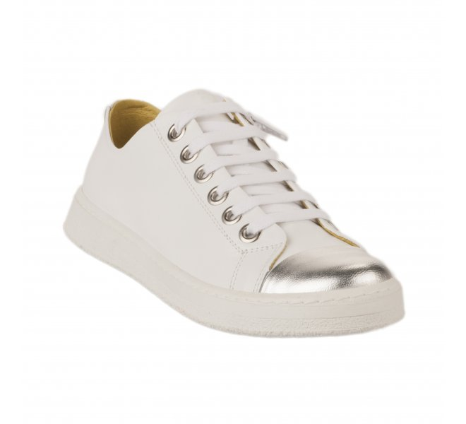 Baskets mode femme - CHACAL - Blanc