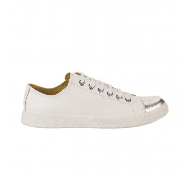 Baskets mode femme - CHACAL - Blanc