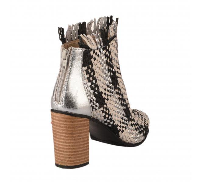 Boots femme - MIGLIO - Bicolore