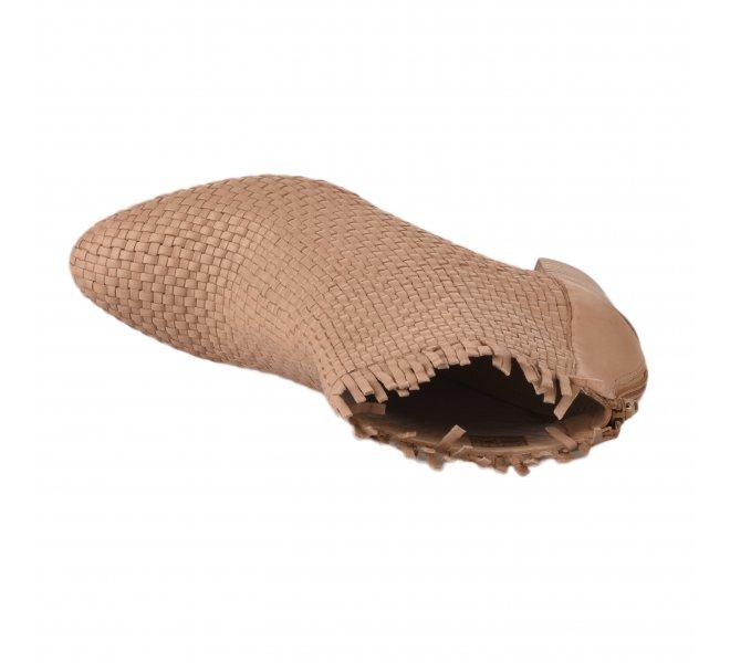 Boots femme - MIGLIO - Beige