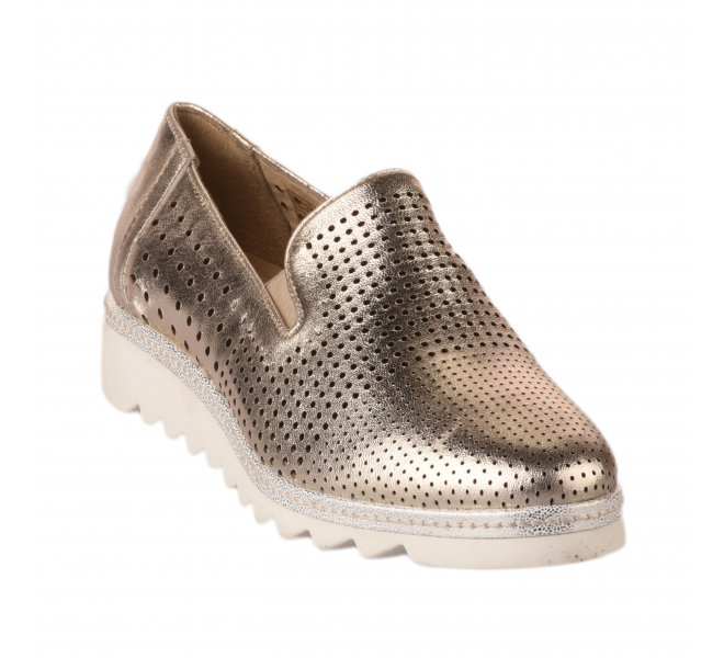 Chaussures basses femme - MIGLIO - Dore