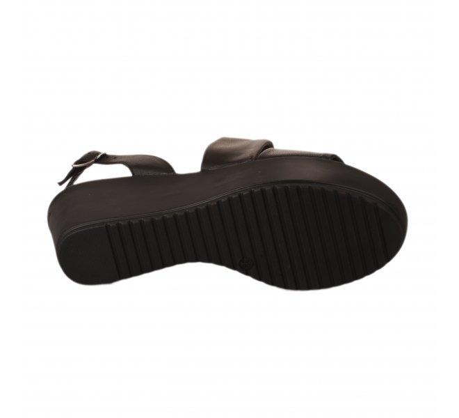 Nu pieds femme - MARKO' - Noir
