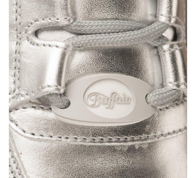 Baskets fille - BUFFALO - Gris argent