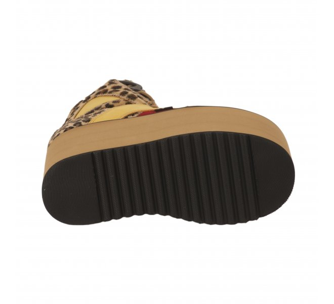 Baskets fille - BUFFALO - Leopard