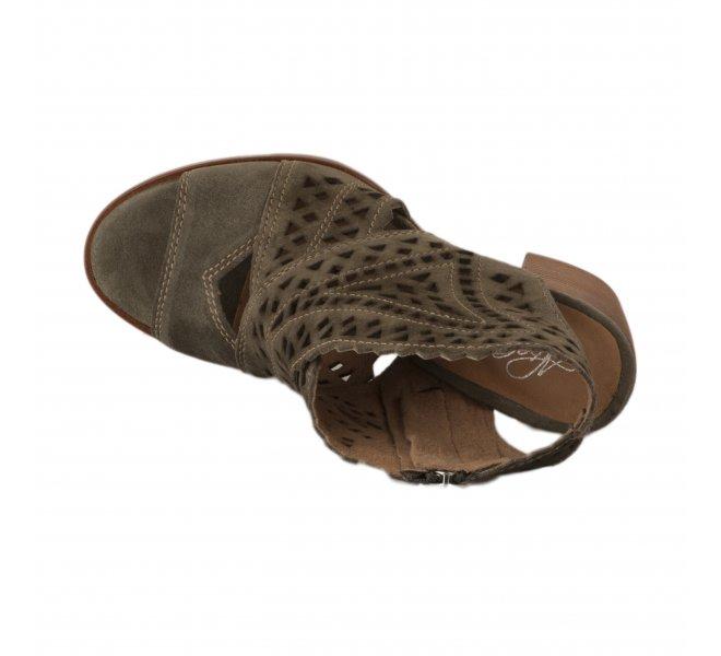 Nu pieds femme - ALPE - Kaki