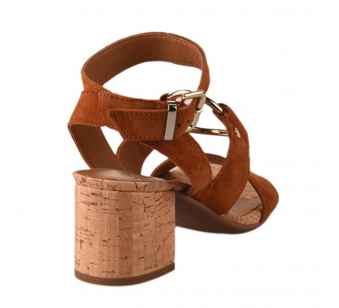 Nu pieds femme - ALPE - Terracotta