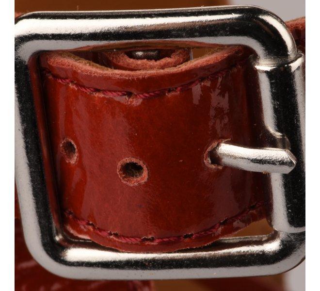 Nu pieds femme - ALPE - Rouge brique