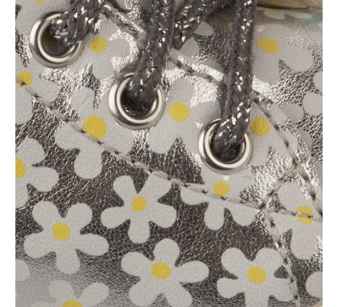 Bottines fille - NATURINO - Gris argent