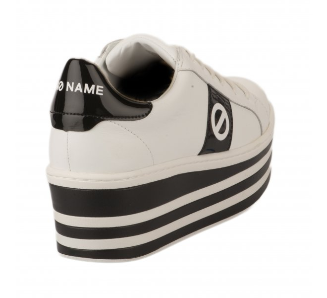 Baskets mode fille - NO NAME - Blanc