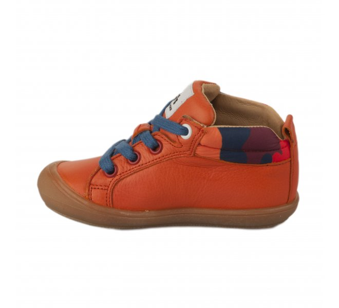 Bottines garçon - ACEBOS - Orange