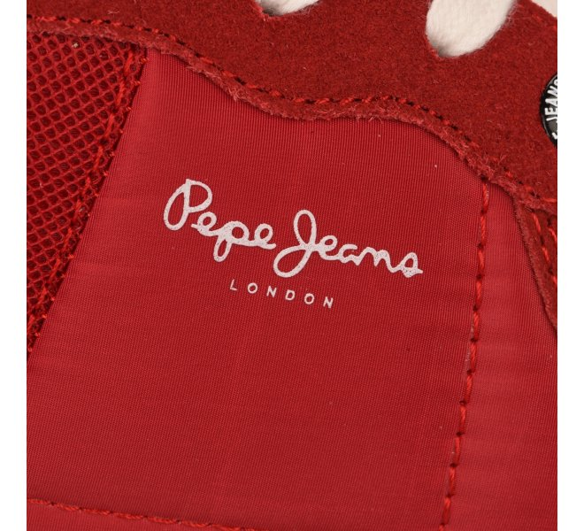 Baskets fille - PEPE JEANS - Rouge