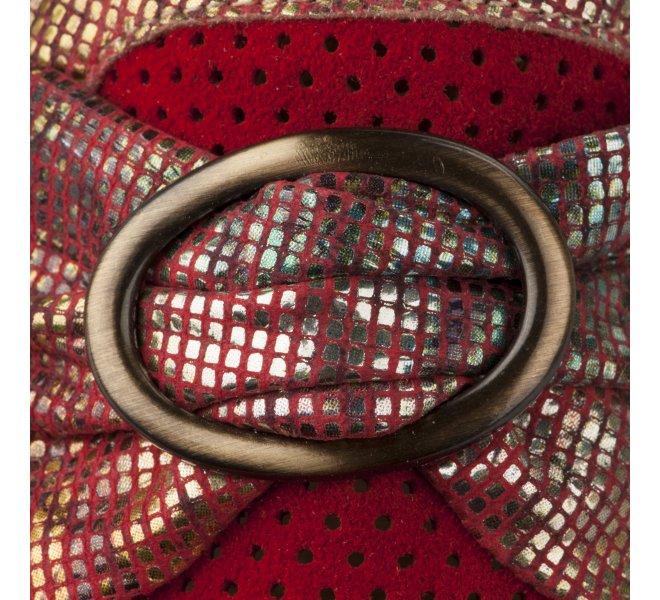 Mocassins femme - CASTA  - Rouge
