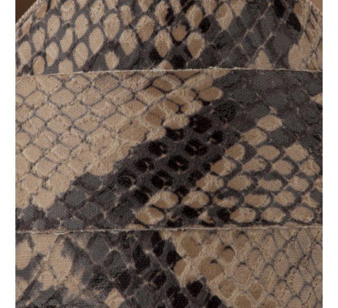 Mocassins femme - MIGLIO - Python