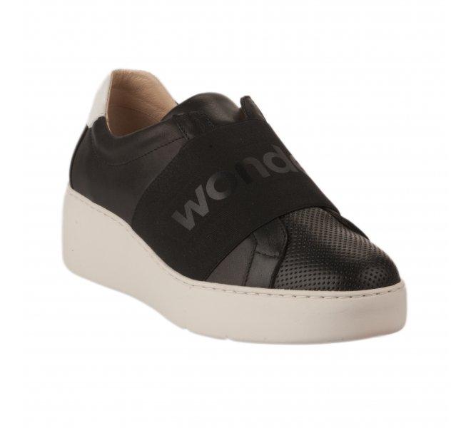 Baskets mode femme - WONDERS - Noir