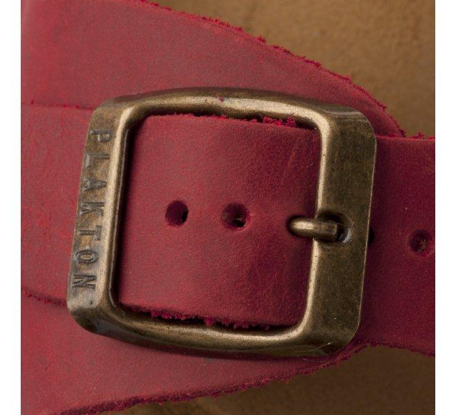 Nu-pieds garçon - PLAKTON - Rouge