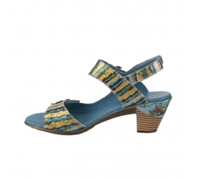 Nu pieds femme - LAURA VITA - Bleu