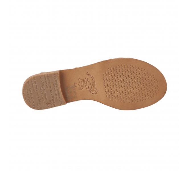 Nu pieds femme - LES TROPEZIENNES - Blanc