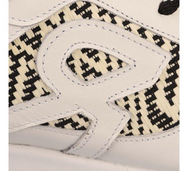 Baskets mode femme - REVOLTE - Blanc