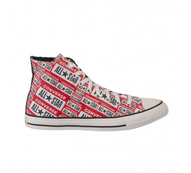 chaussures converse rouge