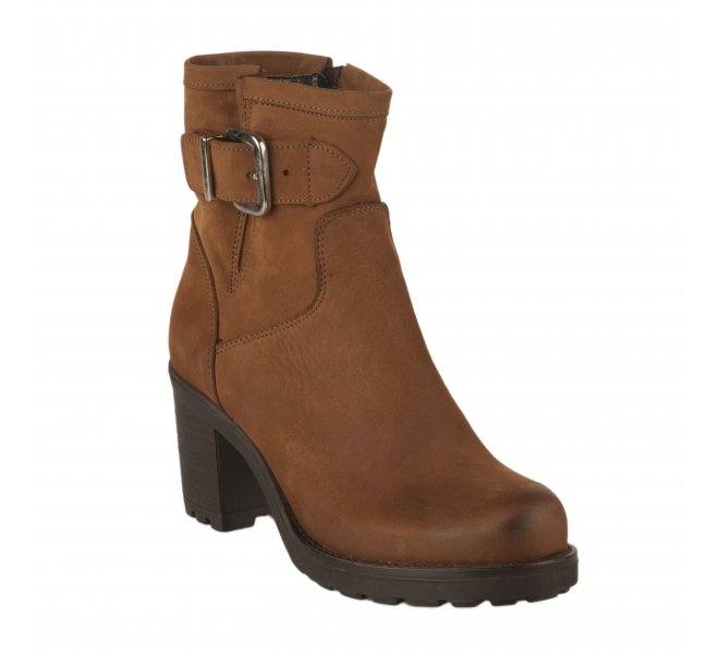 Boots femme - SO SEND - Naturel