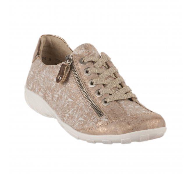 Baskets mode femme - REMONTE - Rose