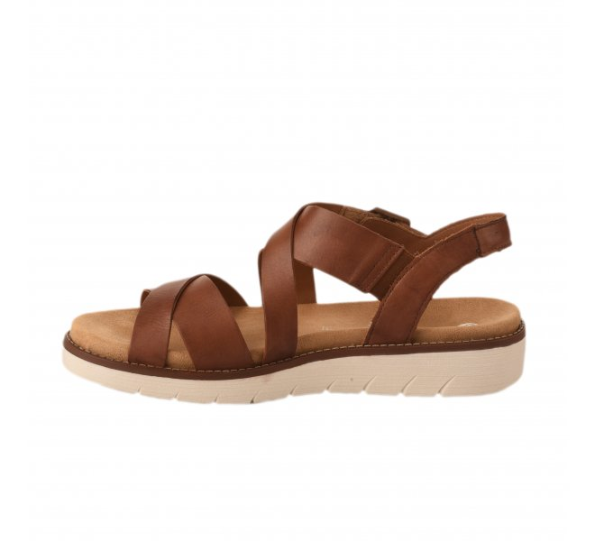 Nu pieds femme - REMONTE - Marron