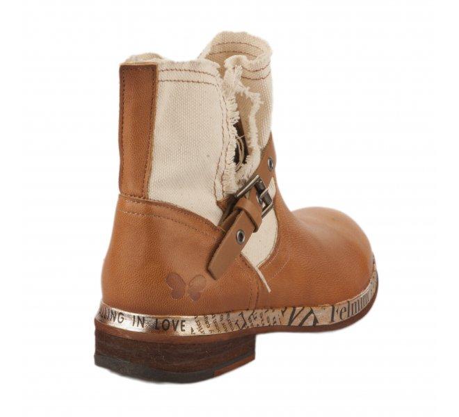 Boots femme - FELMINI - Naturel