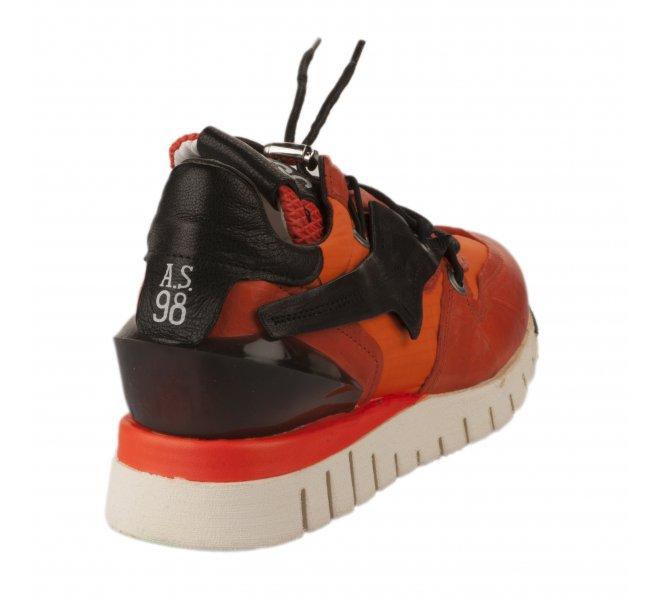 Baskets mode femme - AS 98 - Orange