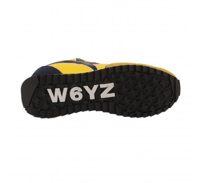 Baskets garçon - WIZZ - Jaune