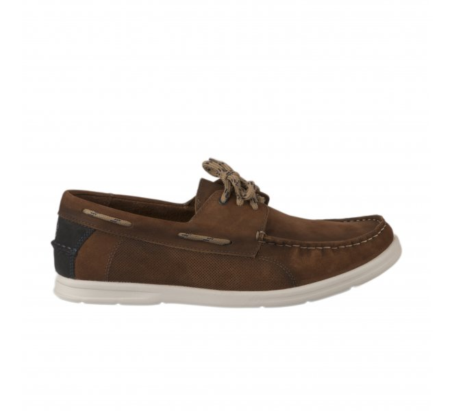 Bateau homme - FIRST COLLECTIVE - Marron