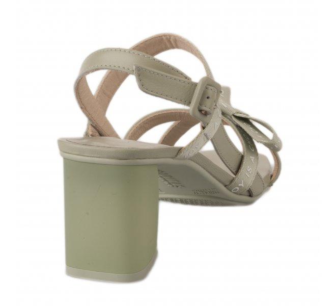 Nu pieds femme - HISPANITAS - Vert d'eau