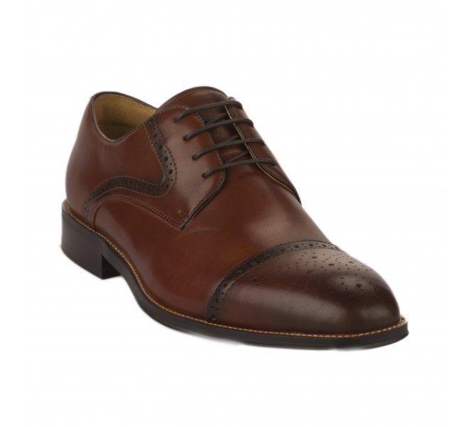 Chaussures à lacets homme - STEPTRONIC - Naturel