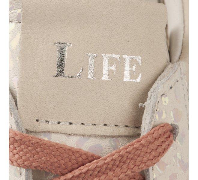 Baskets mode femme - LIFE - Beige